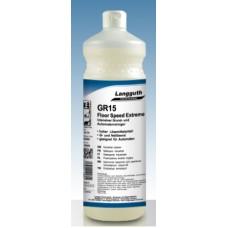 GR15 Grīdas tīrīšanas līdzeklis, vasku noņēmējs, ģenerāltīrīšanai, 1 l.