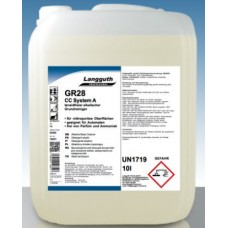 LANGGUTH GR28 CC SYSTEM A Grīdas tīrīšanas līdzeklis, ģenerāltīrīšanai, 10 l.