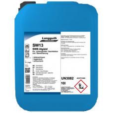 LANGGUTH SW13 Peldbaseinu tīrīšanas un dezinfekcijas līdzeklis, 10 l.