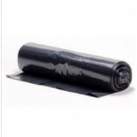 Atkritumu maisi 150 l., melni, LDPE, 50 mcr., 75x115 cm., 10 gab.