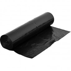 Atkritumu maisi 150 l., melni, LDPE, 30 mcr., 10 gab.