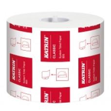 Katrin System Toilet 800 tualetes papīrs ruļļos, 2-slāņu, 100 m, balts, perforēts , 36 ruļļi/iepak.