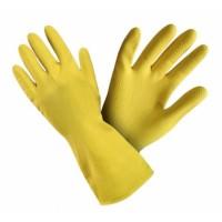 Saimniecības cimdi, dzelteni, S izmērs