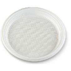 Šķīvis plastmasas, Ø 22 cm., 100 gab., 1 pac.