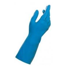 Mapa 165-7 gumijas cimdi, zili, S izmērs