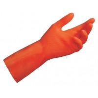 Mapa gumijas cimdi, sarkani, M (8) izmērs