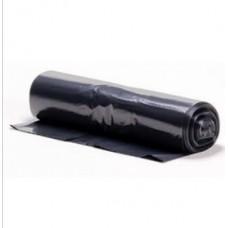 Atkritumu maisi 200 l., melni, LDPE, 80 mcr., 10 gab.