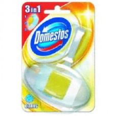 """Domestos """" 3 in 1"""" Citrus tualetes bloks trauciņā, 40 g."""