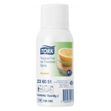 TORK  A1 Tropical Fruit Air gaisa atsvaidzinātājs automātiskajam dispenseram, 75 ml.