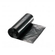 Atkritumu maisi 25 l., melni, HDPE, 12 mcr., 20 gab.