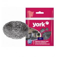 York Mini sprālveida metāla skrāpis virsmu tīrīšanai, 1 gab.