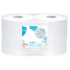 PAPERNET MAXI JUMBO Tualetes papīrs, 1 slānis, 500 m, 6 gab.