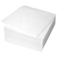 Galda salvetes, 1 slānis, 24x24 cm., baltas, 12 pac. x 400 loksnes