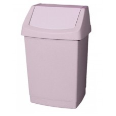 CURVER Atkritumu tvertne ar šūpojošos vāku, bēša, 25 l., 1 gab.