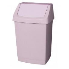 CURVER Atkritumu tvertne ar šūpojošos vāku, bēša, 15 l., 1 gab.