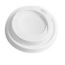 Papīra krūzes vāks, balts, Ø 85 mm., 100 gab.