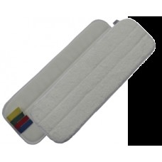 PROQ Mikrofibras mops ar līpvirsmu, balts, 60 cm