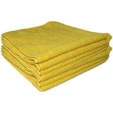 PROQ Tricot Soft Mikrofibras lupatat, dzeltena, 40x40 cm. 5gb
