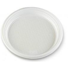 Šķīvis plastmasas, Ø 22 cm., 100 gab.