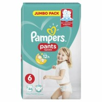 PAMPERS Pants No.6 Jumbo 44 gab.