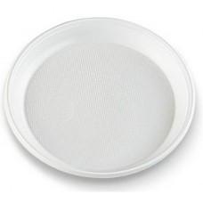 Šķīvis plastmasas, Ø 17 cm., 100 gab., 1 pac.
