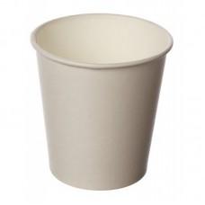 Glāzes papīra, balta, 100 ml., Ø6.3cm., 100gb (kastē 30pac)