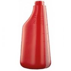 PROQ Polietilēna pudele (bez uzgaļa), sarkans, 600 ml., 1 gab.