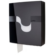 Celtex Maxi tualetes papīra turētājs, melns, 11.5x31.5x37.5 cm.