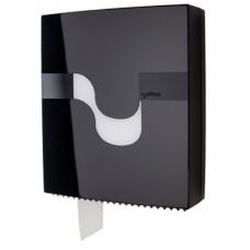 Celtex Maxi tualetes papīra turētājs, melns, 11.5x31.5x37.5 cm. (mazlietots)