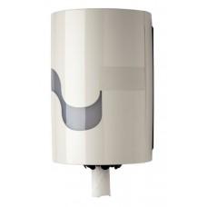 Celtex Maxi papīra dvieļu turētājs ar centrālo padevi, balts, 23x22.5x35 cm.