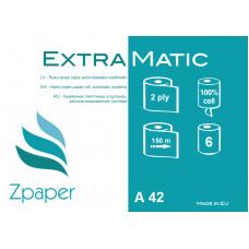 Papīra dvieļi ruļļos Matic automātiskajiem dispenseriem  (21cm), 2 slāņi, 150 m., 6 gab.