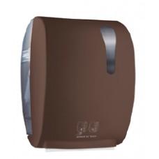 Mar Plast papīra dvieļu turētājs ar sensora padevi, brūns, 40.5x22.4x32 cm.