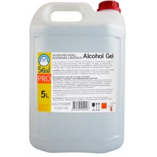 SEAL Alcohol Gel mitrinošs roku dezinfekcijas līdzeklis, 5 l.