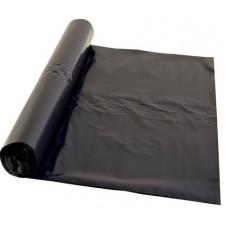 Atkritumu maisi 250 l., melni, LDPE, 45 mcr., 100x125 cm., 10 gab. rullī