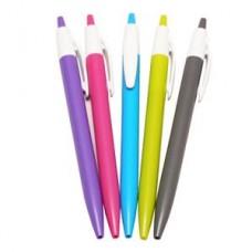 Pildspalva, lodīšu, asorti korpuss, zila tinte, 1 gab.