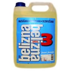 BIOLAR FORMULA 3 - BELIZNA Veļas mazgāšanas, balināšanas un dezinficēšanas līdzeklis, 5 l.