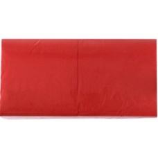 LENEK Galda salvetes, 1 slānis, 24x24 cm, sarkanas, 18 pac. x 400 loksnes