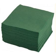 LENEK Galda salvetes, 2 slāņi, 33x33 cm, zaļas, 8 pac. x 250 loksnes