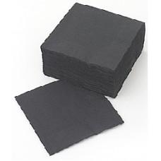 LENEK Galda salvetes, 2 slāņi, 33 x33 cm, melnas, 8 pac. x 250 loksnes