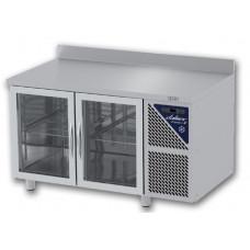 Aukstais galds ar divām durvīm (stikla)
