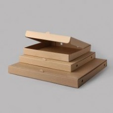Picu kartona kastes, brūnas, 330x330x37 mm, 25 gab