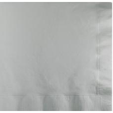 Galda salvetes, 2 slāņi, 24x24 cm., pelēkas, 10 pac. x 200 loksnes