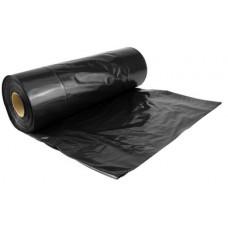 Atkritumu maisi 20 l., melni, HDPE, 6 mcr., 45x50 cm., 50 gab.