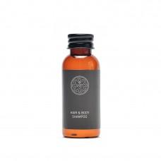 "SIGN Šampūns matiem un ķermenim ""2 in 1"" pudelītē, 30 ml., 125 gab., 1 kaste"