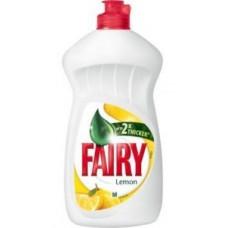 Fairy Lemon trauku mazgāšanas līdzeklis, 450ml.