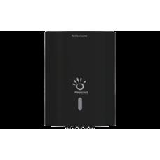 PAPERNET Papīra dvieļu turētājs ar centrālo padevi, melna, 22.1x22.5x30.4 cm.