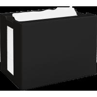PAPERNET Interfold Galda salvešu turētājs, melns, 16,8x12,5x10,9 cm.