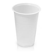 Glāzes baltas, 180 ml., 100 gab.