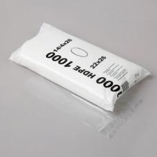 HDPE Maisiņi caurspīdīgi, 14x4x26 cm., 1000 gab., 1 pac.