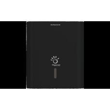 PAPERNET Roku salvešu loksnēs turētājs, Z/W locījumam, melns, 29x10.8x33.6 cm.